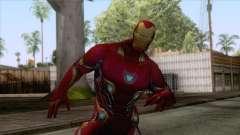 Marvel Future Fight - Iron Man (Infinity War) para GTA San Andreas
