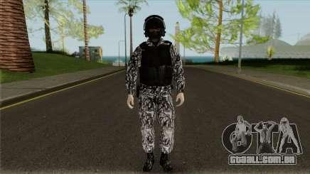 O funcionário da SOBR para GTA San Andreas