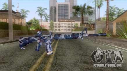 M-16 Camo URB Azul para GTA San Andreas