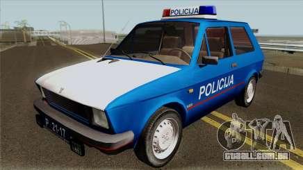 Yugo Koral Policija para GTA San Andreas