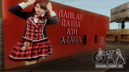 Wall LS Nabilah JKT48 para GTA San Andreas