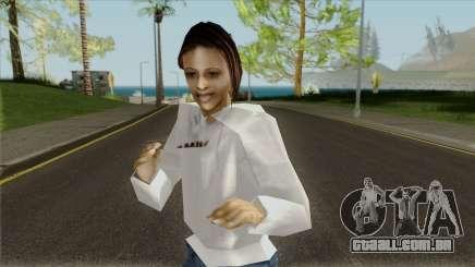 A menina do casaco para GTA San Andreas