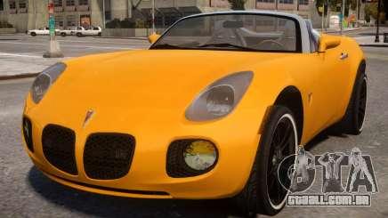 Pontiac Solstice GXP para GTA 4