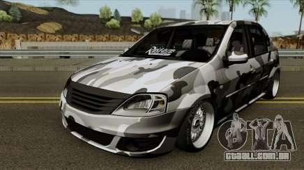 Dacia Logan Stance para GTA San Andreas