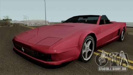 Novo Chita em SA estilo para GTA San Andreas