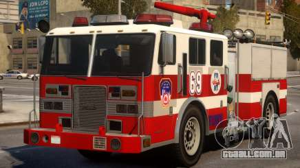 Fire Truck Real New York para GTA 4