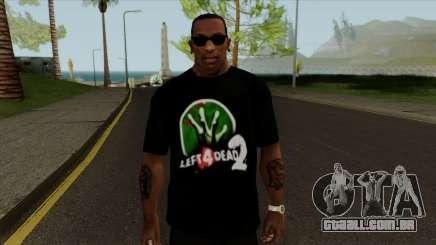 T-Shirt Deixa 4 Mortos 2 para GTA San Andreas