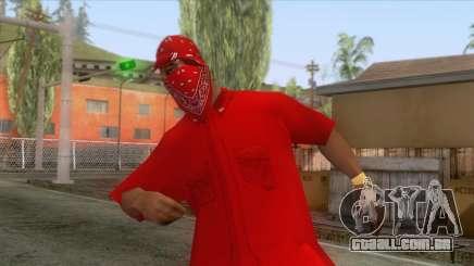 Crips & Bloods Ballas Skin 6 para GTA San Andreas