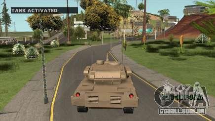 Spawn Tanque para GTA San Andreas