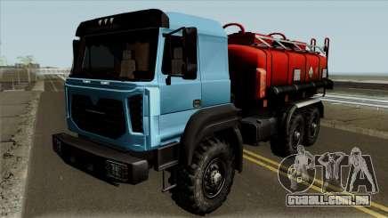 Ural-5557-80M Tanque para GTA San Andreas