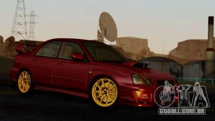 Subaru Impreza WRX STI 2004 para GTA San Andreas