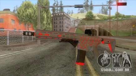 New M4 Assault Rifle para GTA San Andreas