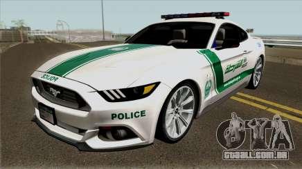 Ford Mustang GT 2015 Dubai Police RedBull Dubai para GTA San Andreas