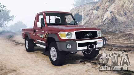 Toyota Land Cruiser 70 pickup v1.1 [replace] para GTA 5