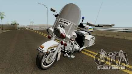 A Harley-Davidson FLH 1200 Polícia da Ucrânia para GTA San Andreas