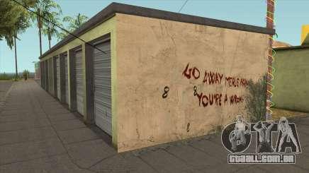 The Infinity Killer Merle Abrahams (GTA 5 Wall) para GTA San Andreas