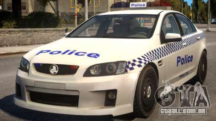 Holden Commodore Police para GTA 4