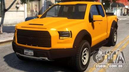 Vapid E109 Extended Cab para GTA 4