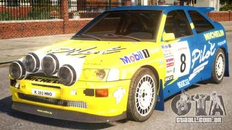 Ford Escort Cosworth RS Rally WRC 3.0 para GTA 4