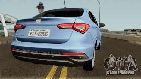 Fiat Cronos 2018 para GTA San Andreas vista direita