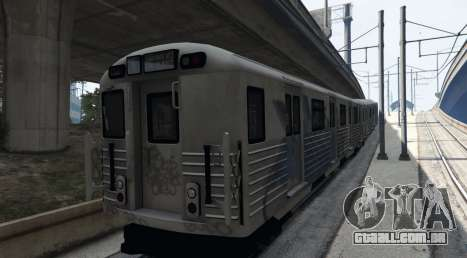 2008 Liberty City Metro Train para GTA 5