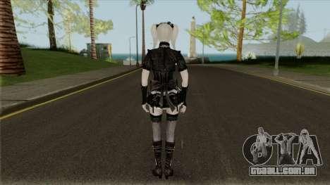 GothLolita from S.K.I.L.L. Special Force 2 para GTA San Andreas