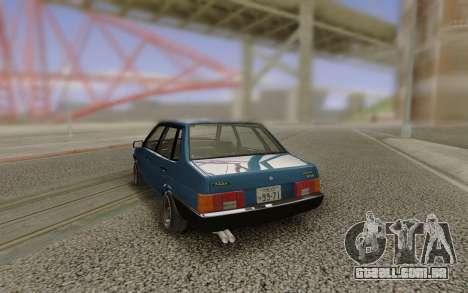 VAZ 21099 Estilo Japonês para GTA San Andreas