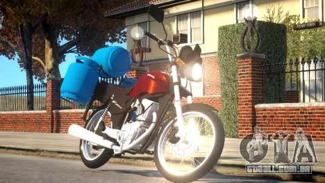 Honda CG 125 para GTA 4
