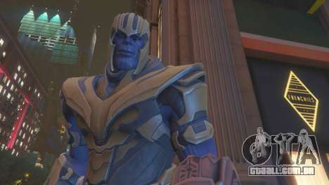 Thanos Fortnite Version para GTA 5