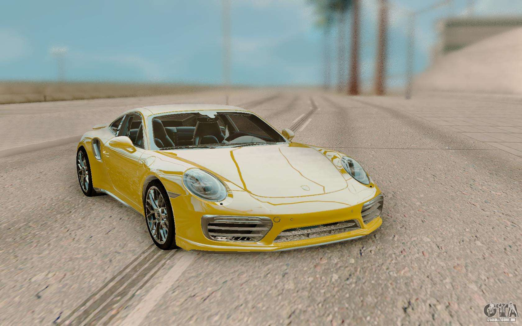 Porsche 911 Turbo S Exclusive Series Para Gta San Andreas