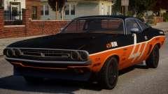 Dodge Challenger 1971 PJ7 para GTA 4