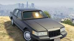 Lincoln TownCar 1991 para GTA 5