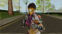 Skin Maven from Ghost in The Shell (with a face) para GTA San Andreas