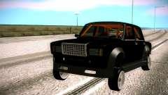 Pregar armadas 2107 de Ajuste, Lada 2107 para GTA San Andreas