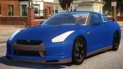 Nissan GTR SpecV V1.3 para GTA 4