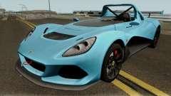 Lotus 3 Eleven 2016 para GTA San Andreas