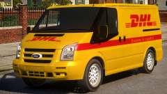 Ford Transit DHL para GTA 4