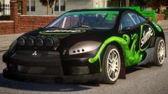 Mitsubishi Eclipse Rallycross PJ2 para GTA 4