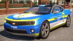 Chevrolet Camaro 2012 Ubisoft Racing Team para GTA 4