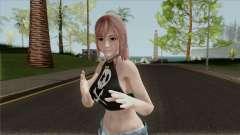Honoka Denim Shorts para GTA San Andreas