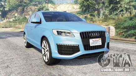 Audi Q7 V12 TDI quattro (4L) 2008 [replace] para GTA 5