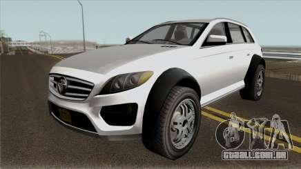 Benefactor Streiter GTA V IVF para GTA San Andreas