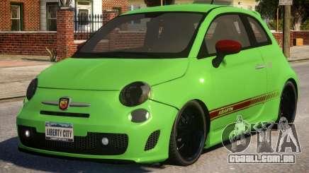 Fiat Abarth 500 para GTA 4