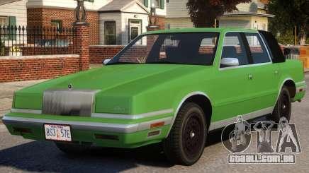 1988 Chrysler New Yorker Stock para GTA 4