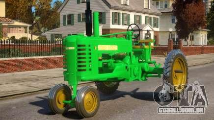 John Deere B Tractor 1950 para GTA 4