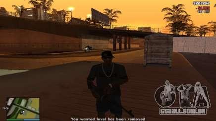Subornar a polícia para GTA San Andreas