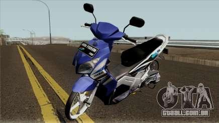 Yamaha Nouvo Z Blue STD para GTA San Andreas