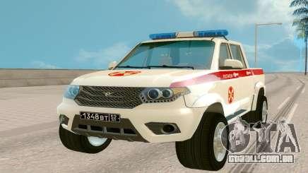 UAZ de Recebimento (Regardie) para GTA San Andreas
