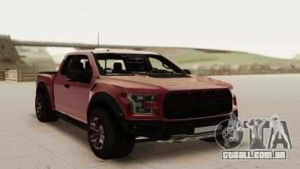 Ford Raptor F150 2017 para GTA San Andreas