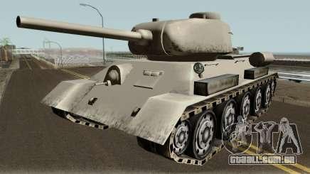 T-34-85 (SA Style,Low Poly) para GTA San Andreas